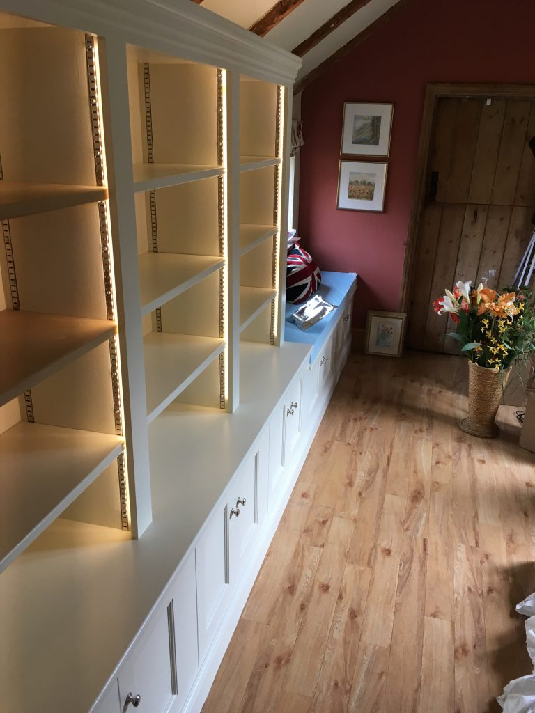 Fitted cabinet 12