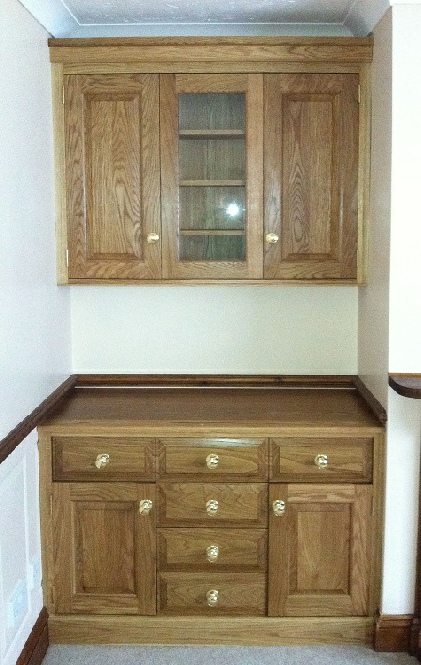 Fitted cabinet 34